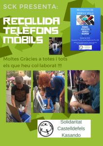 Sck presenta_recollida telèfons mòbils imatge