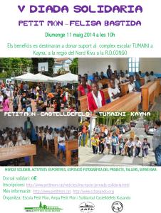 V Jornada solidària 21 de maig 2014